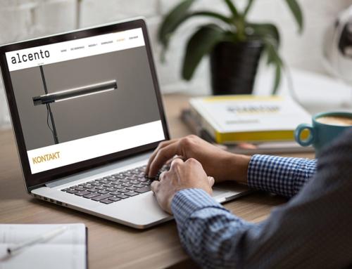 Webprojekt | Alcento | Das Licht