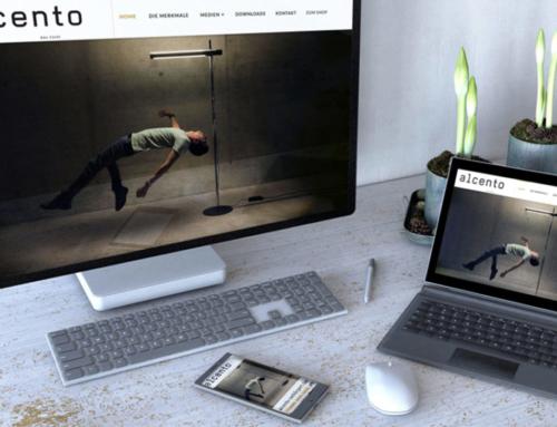 Web Projekt Alcento | Das Licht